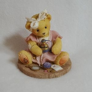 Cherished Teddies Ava Avon Figurine 1998
